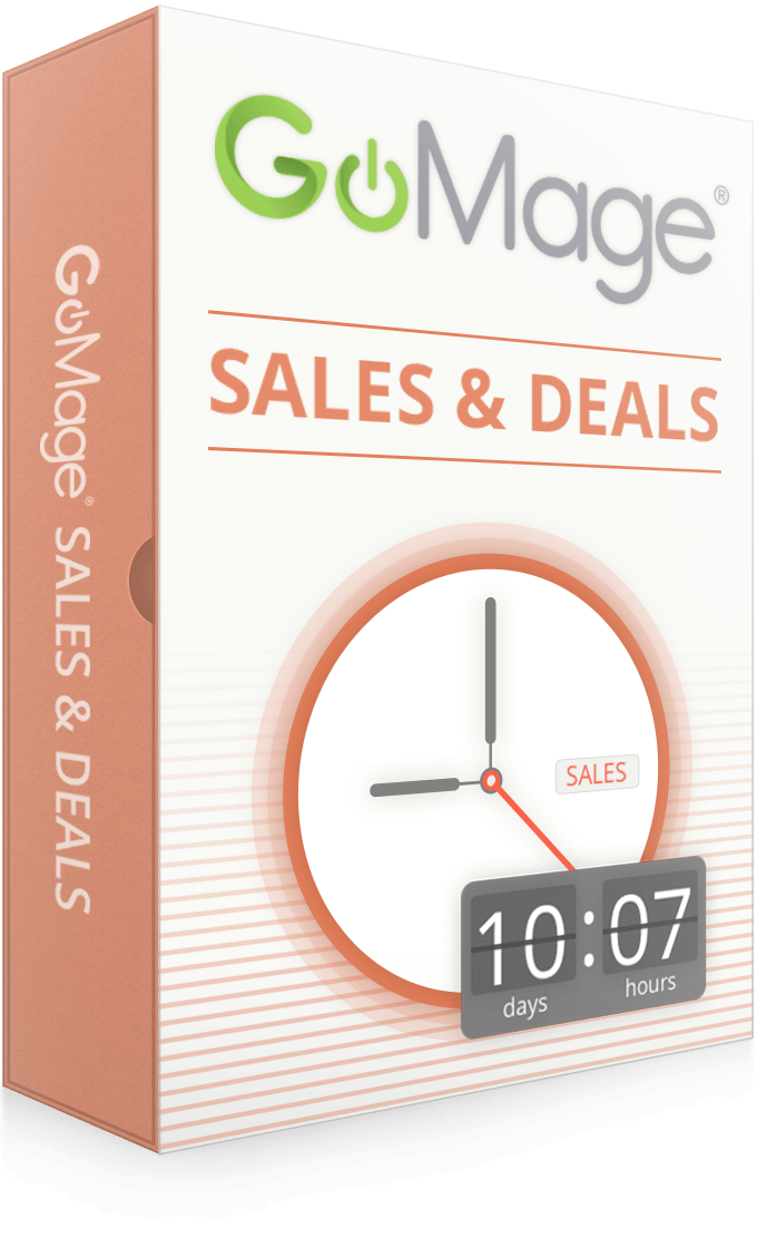 GoMage Sales & Deals for Magento ®