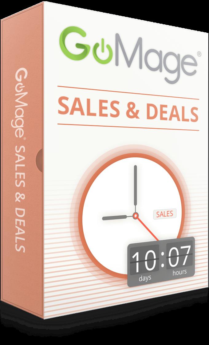 GoMage Sales & Deals for Magento ®
