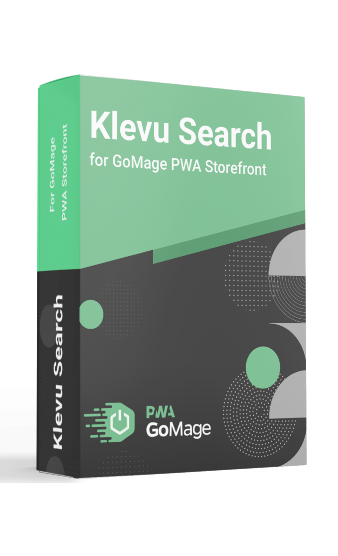Klevu Search for GoMage PWA Storefront