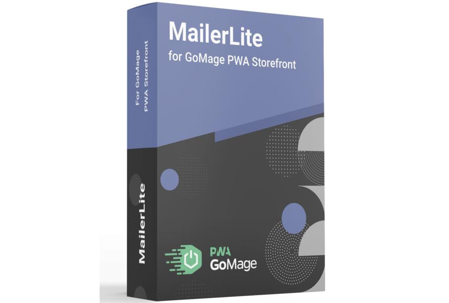 MailerLite for GoMage PWA Storefront