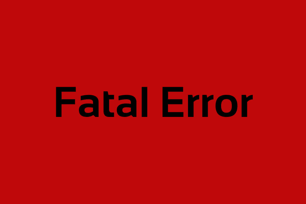Fatal Error in Magento ®:  How To Handle Such Events
