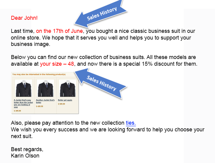 personal e-mail marketing can