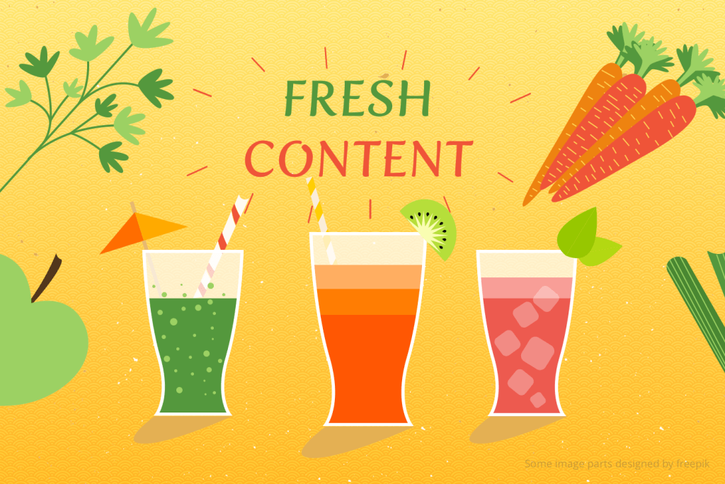 Fresh Content: Important Peculiarities for Online Stores