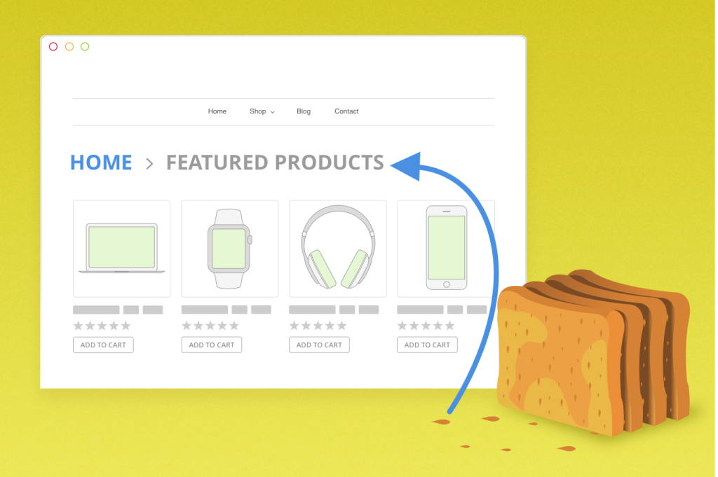 How to build breadcrumb navigation for Ecommerce