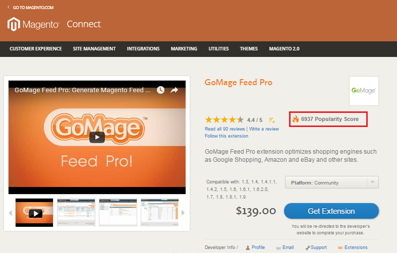 Magento_Connect_FeedPro