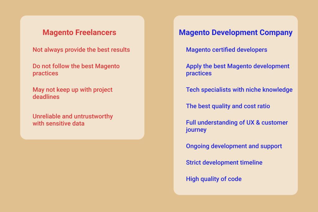 Magento eCommerce Developer: Freelancer vs Magento Development Company