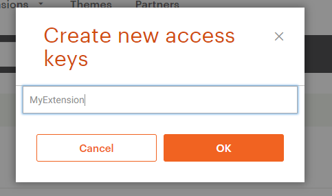 Magento Extension Installation: Name Access Keys