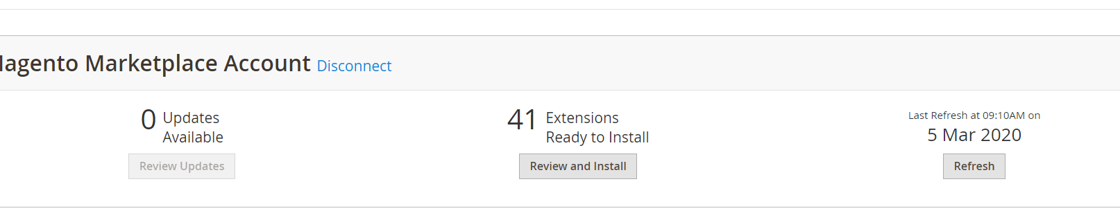 Magento Installed Extensions