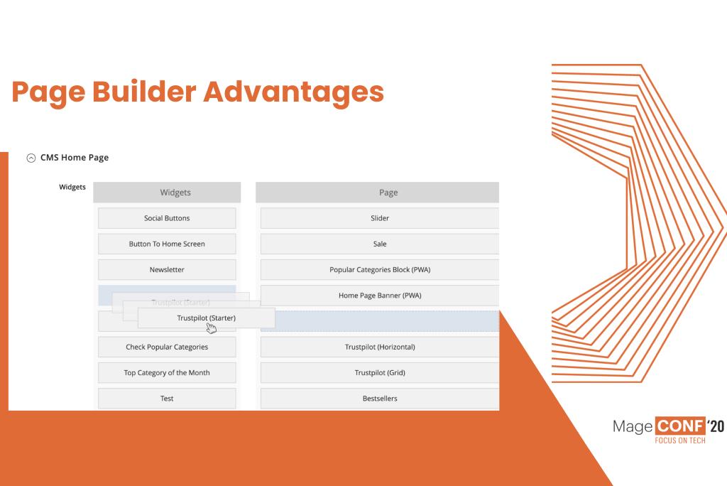 GoMage PWA Theme: Page Builder