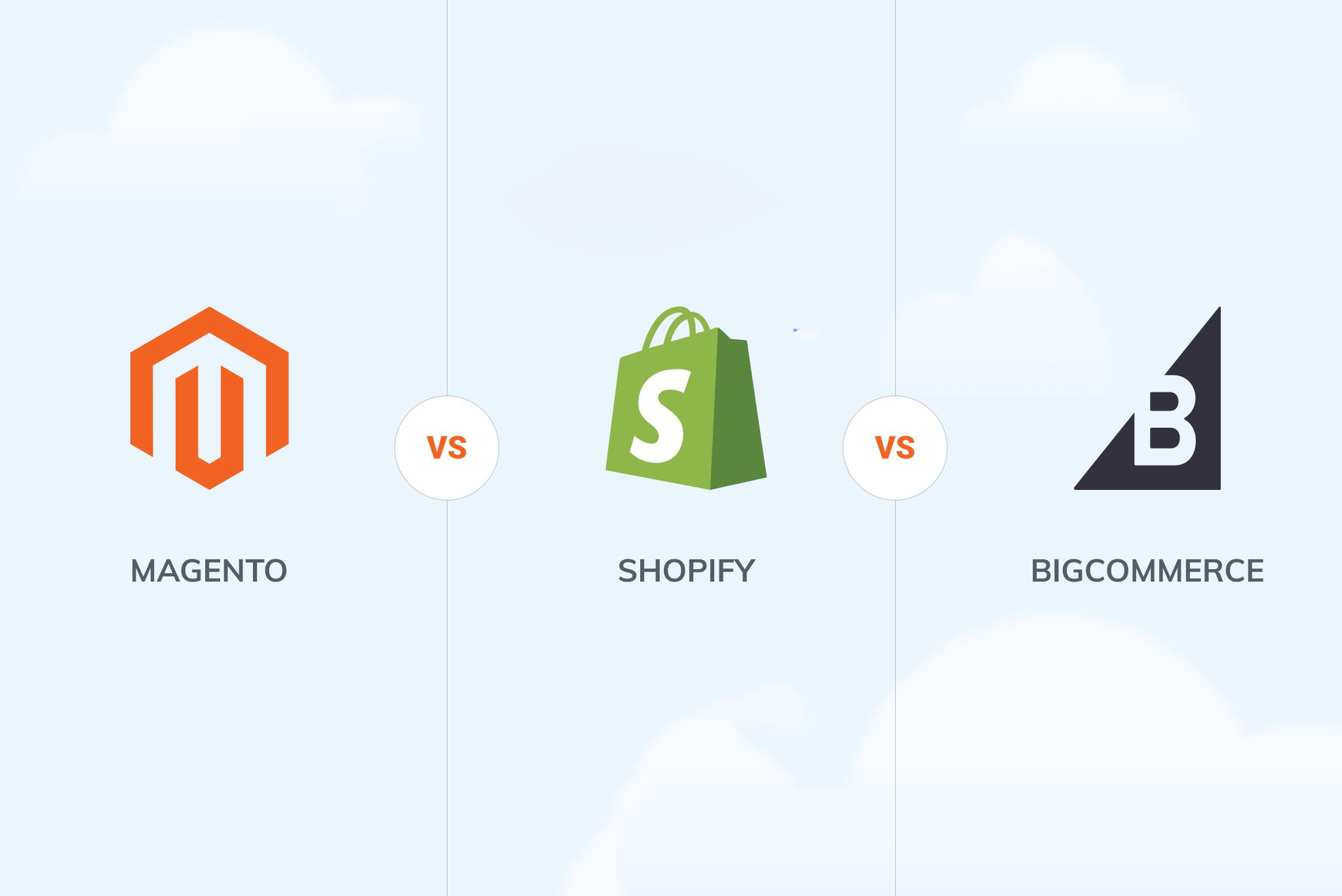 BigCommerce vs. Magento vs. Shopify: 2021 Comparison