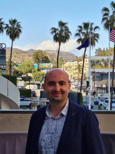 GoMage CEO, Yuriy Kuzminov, in the United States